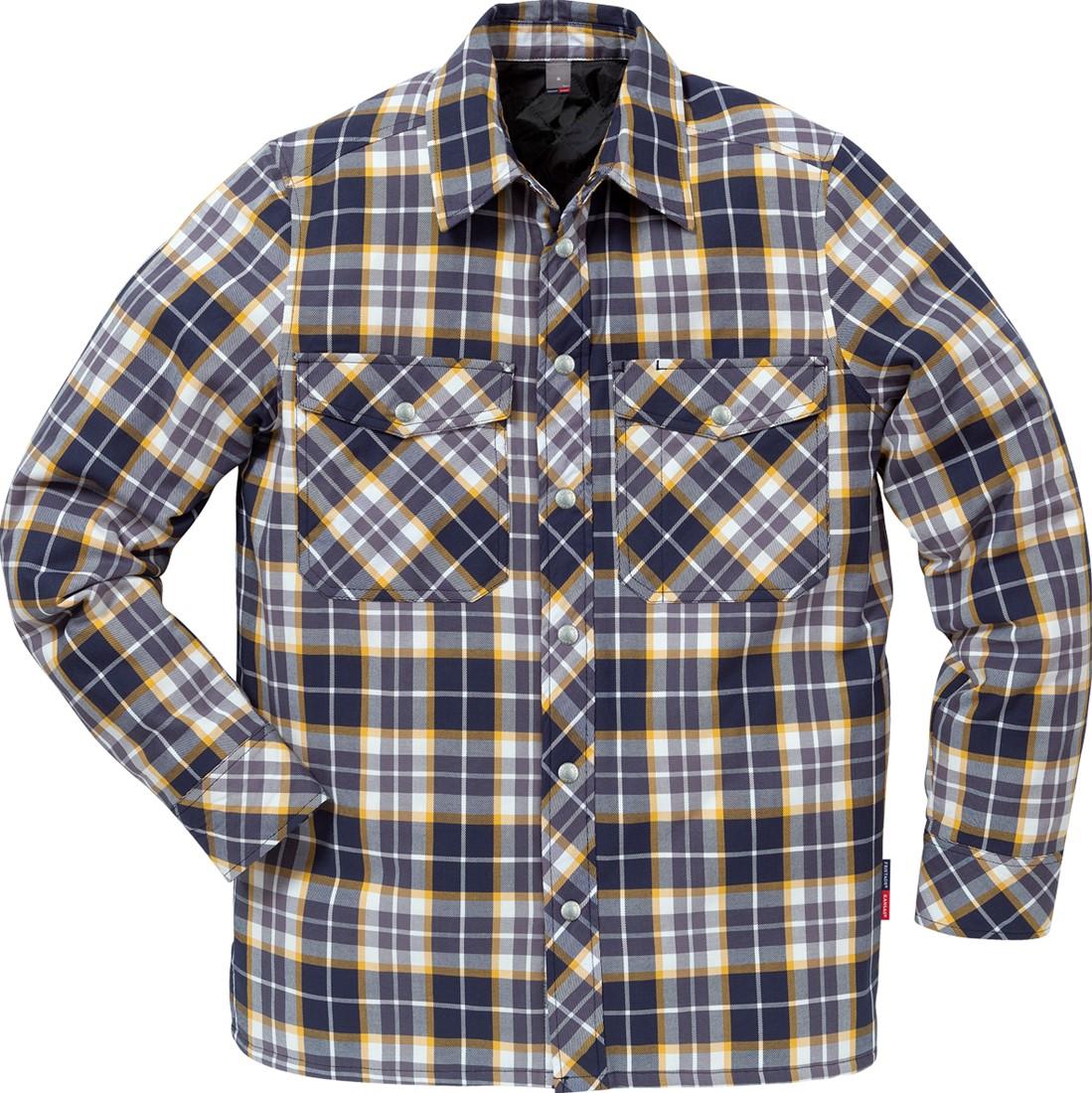 Flanellen Overhemd.Fristads Gevoerd Flanellen Overhemd 7445 Lf Workwear4all