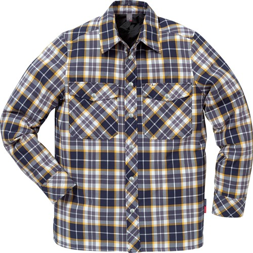 Fristads Gevoerd flanellen overhemd 7445 LF-1