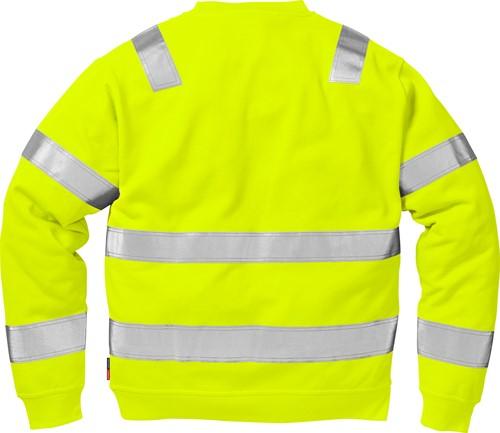 Fristads High vis sweatshirt klasse 3 7446 BPV
