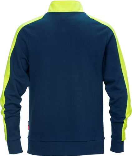 Fristads Sweatshirt met korte rits 7449 RTS