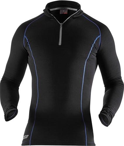 Fristads Polartec® T-shirt lange mouwen met korte rits 7078 PT-1