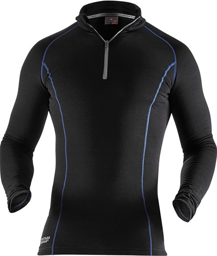 Fristads Polartec® T-shirt lange mouwen met korte rits 7078 PT