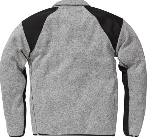 Fristads Fleece sweatjack 7451 PRKN-Grijs/Zwart-XS-2