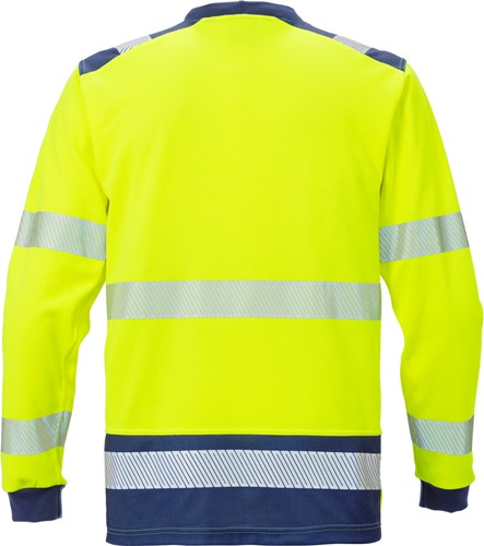 Fristads High vis T-shirt lange mouwen klasse 3 7724 TPR-2