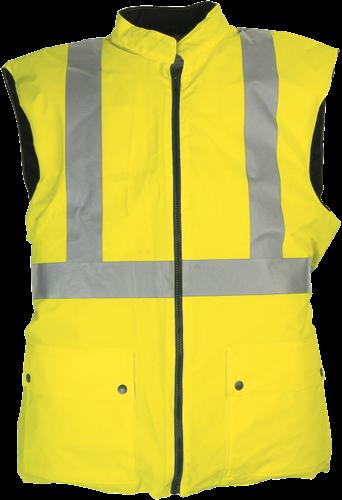 Sioen Arras Signalisatie Bodywarmer - Fluo Geel - S