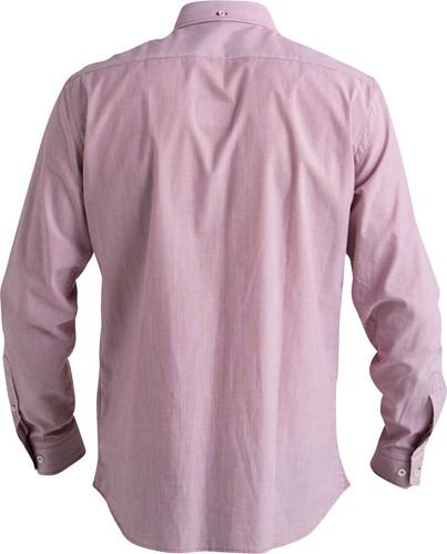 Hejco Elton Overhemd lange mouwen-Rood-37/38