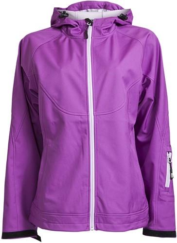 Elka Rain Edge Dames softshell Regenjas-XS-Purple