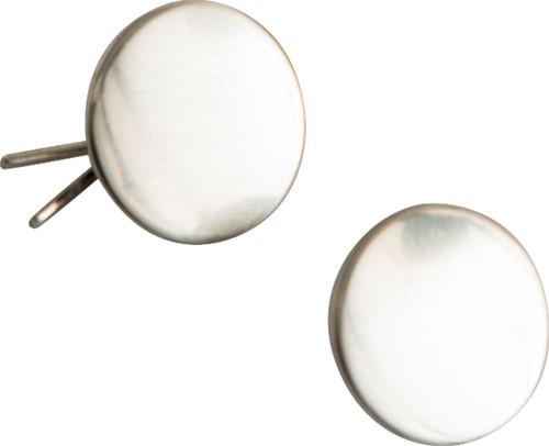 Hejco Tory Knopen voor serveerjas-Één maat-Zilver