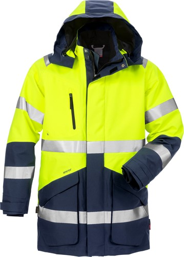 Fristads High vis GORE-TEX® winterparka klasse 3 4989 GXB