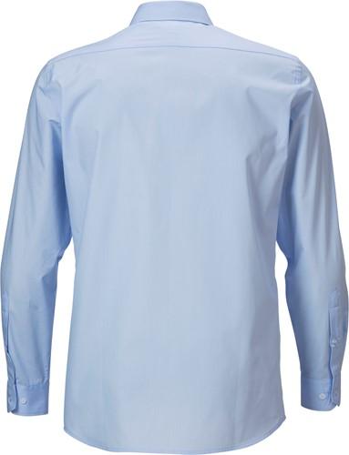 Hejco Henrik Overhemd lange mouwen-Lichtblauw-35/36-2