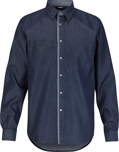 Hejco Calvin Overhemd-XS-Denimblauw