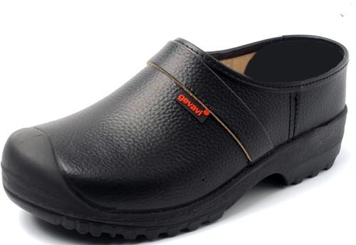 Gevavi 1240/00 schoenklomp PU S3 gesloten hiel - zwart-38
