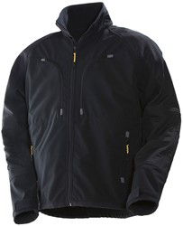 Jobman 1246 Softshell Jack Layer 3 - zwart
