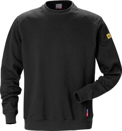 Fristads ESD sweatshirt 7083 XSM-Zwart-XS-1