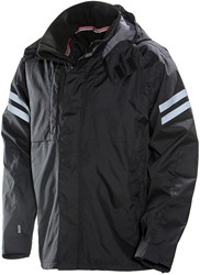 Jobman 1262 Softshell Jack Layer 3 zwart