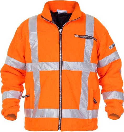 Hydrowear Turijn RWS Fleecejacket - Oranje-S