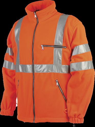 Sioen Reims Signalisatie Fleece Jas-XS-Fluo Oranje