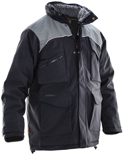 Jobman 13 Winter parka zwart