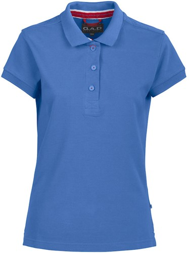 DAD Lynton Polo Dames-Blauw-S