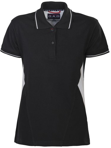 DAD Gibson Polo Dames - Zwart-S