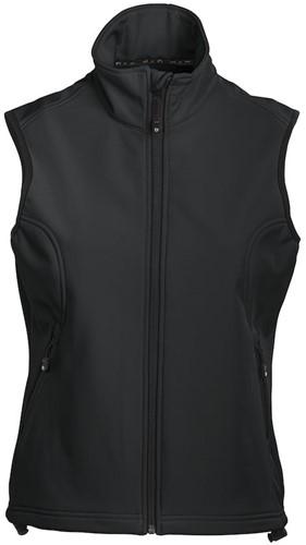DAD Geraldton Bodywarmer Dames-Zwart-XXL