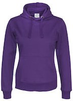 CottoVer Hood Dames-XS-Paars