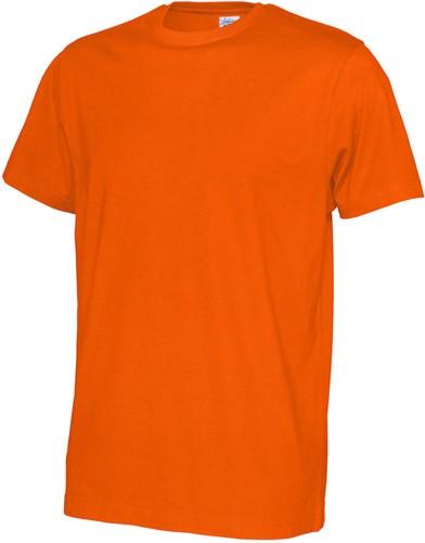 SALE! CottoVer 141008 T-shirt Heren - Oranje - Maat S