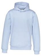 CottoVer Hood Zip Kids-Sky blauw-100