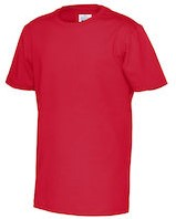CottoVer T-shirt Kids-Rood-100