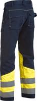 Blaklader 14781506 Multinorm broek Navy/Geel-2