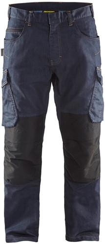 Blaklader 14971141 Service werkbroek - marineblauw/zwart