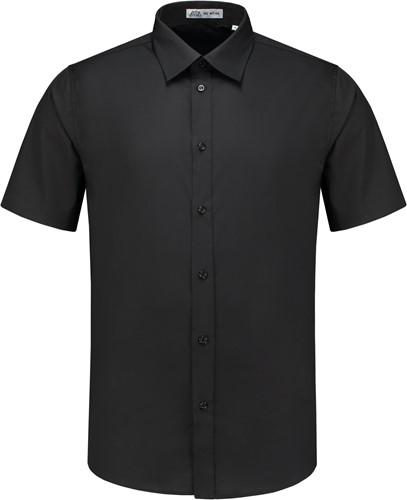 Heren overhemd Brad KM - Zwart-1