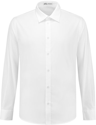 Heren overhemd Brandon LM - Wit-1