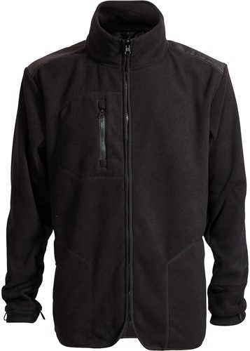 Elka Rain Xtreme fleece zip-in Regenjas-Zwart-XS