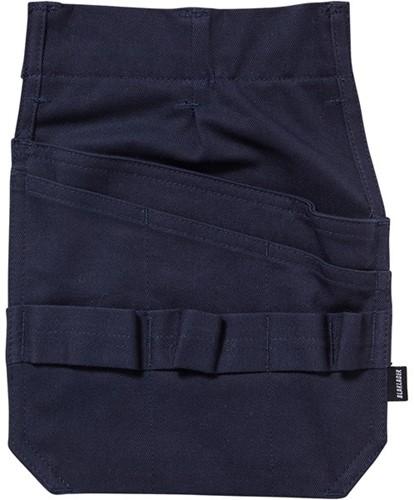 Blaklader 15161514 Vlamvertragende losse spijkerzakken-Marineblauw