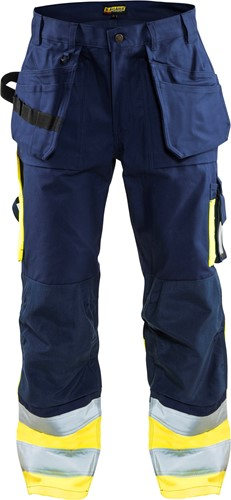 Blaklader 15291370 Werkbroek High Vis-1