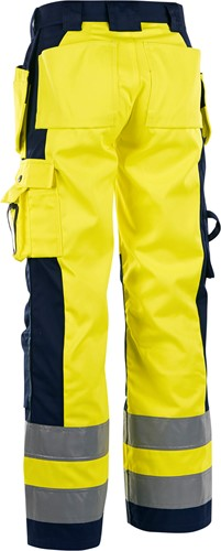 Blaklader 15431804 Dames Werkbroek High vis