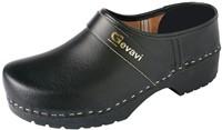 Gevavi 1550/00 Gesloten Schoenklomp PU - zwart-44-1