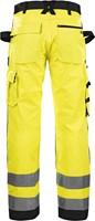 Blaklader 15661811 Werkbroek High Vis zonder spijkerzakken-Geel/Zwart-C44-2