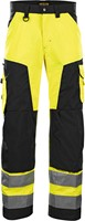 Blaklader 15661811 Werkbroek High Vis zonder spijkerzakken-Geel/Zwart-C44-1