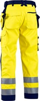 Blaklader 15672517 Werkbroek Softshell High Vis-2