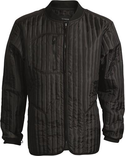 Elka Rain Xtreme Thermo zip-in Regenjas-Zwart-XS
