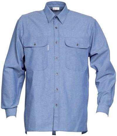 Havep Basic Hemd lange mouw-S-Kobalt Blauw