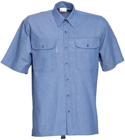 Havep Basic Hemd korte mouw-S-Kobalt Blauw