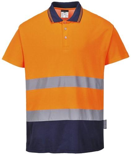 Portwest S174 2-Tone Cotton Comfort Polo