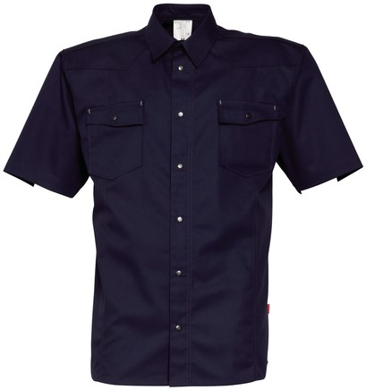 Havep Worker Hemd korte mouw-XXL-Marineblauw