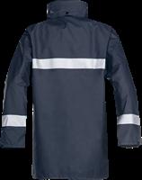 Sioen Alabama Vlamvertragende Regenjas-S-Marineblauw
