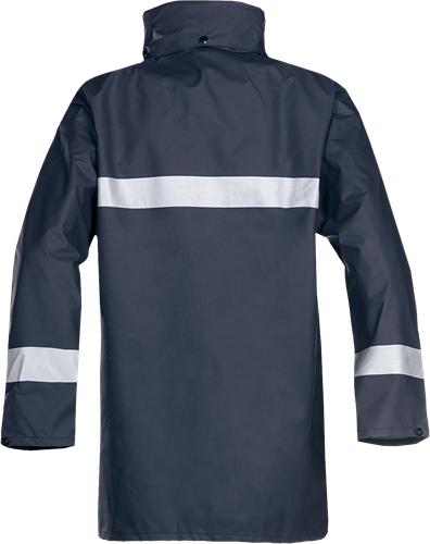 Sioen Alabama Vlamvertragende Regenjas-S-Marineblauw-2