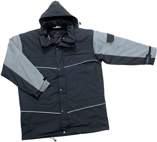 Hydrowear Nijmegen Winterjacket - Zwart/Grijs-M