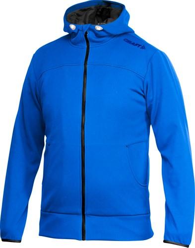 Craft Leisure Full Zip Hood Vest Heren-XS-Swed. Blauw